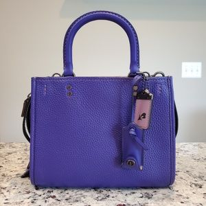 Coach Purple Rogue 25, BNWT!